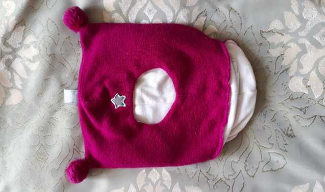 Продам Шапка-шлем для девочки Kivat, зима, р.1