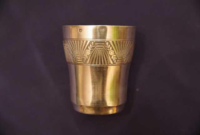 Продам Старинный серебряный стакан стакан. XIXв
