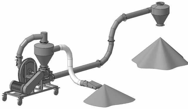 Продам: Пневматический Транспортер для Зерна ПТЗ