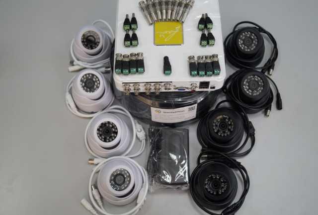 Продам комплект (AHD-видеонаблюдения) на 8камер