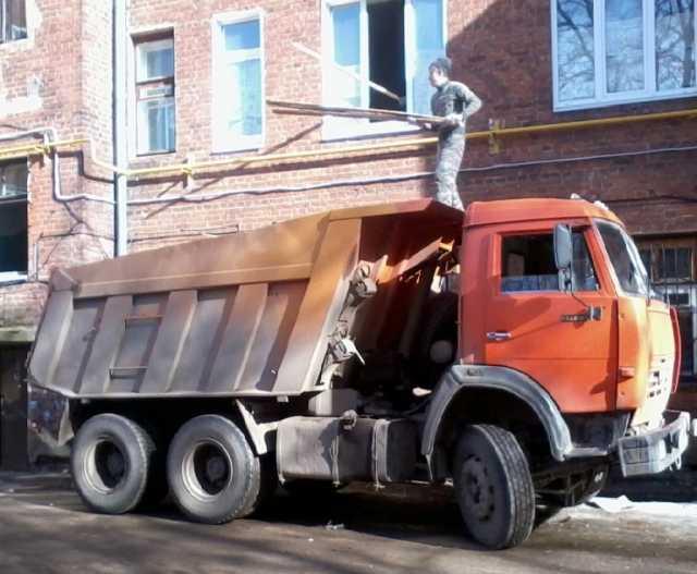 Предложение: Вывоз строительного мусора. Камаз.