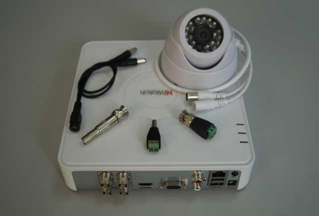 Продам Комплект (видеонаблюдения) с 1-й камерой