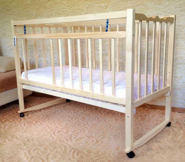 Продам детскую кроватку с секцией