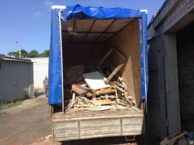 """Предложение: Вывоз строительного мусора на """"Газели """""""
