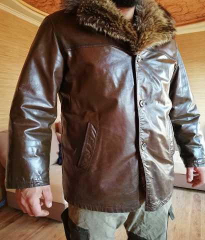 Продам кожаную мужскую куртку (Б\У)
