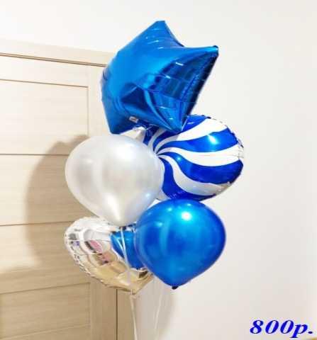 Продам Воздушные шары Синий и Белый