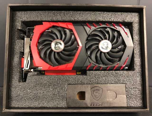 Продам MSI GeForce GTX 1080 ti Gaming X 11GB DD