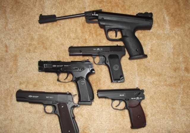 Продам Пневматические пистолеты