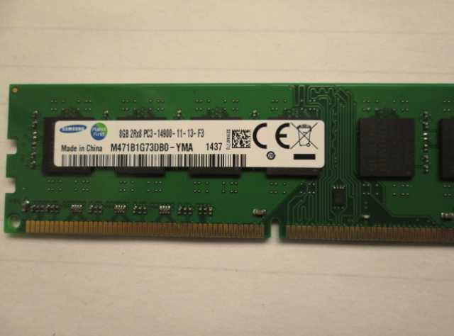 Продам 8Gb DDR3-14900. 1866MHz