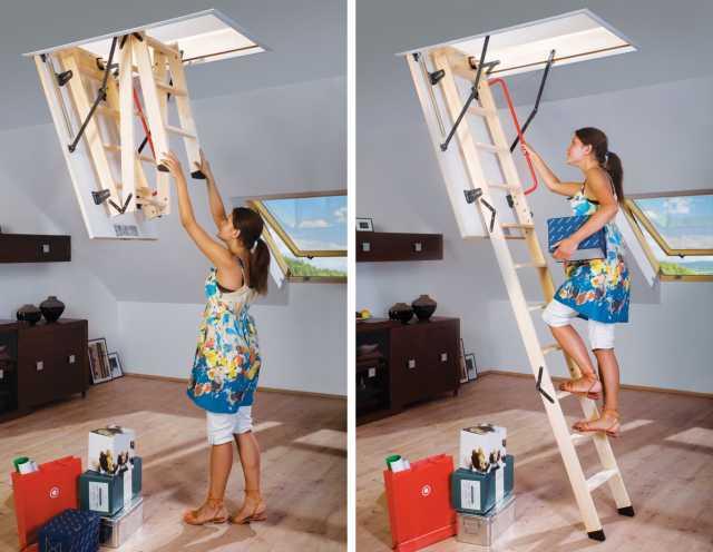 Продам Складная чердачная лестница