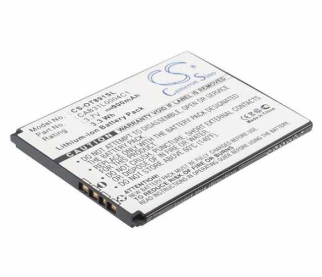 Продам Аккумулятор для Alcatel CAB31L0000C1, CA