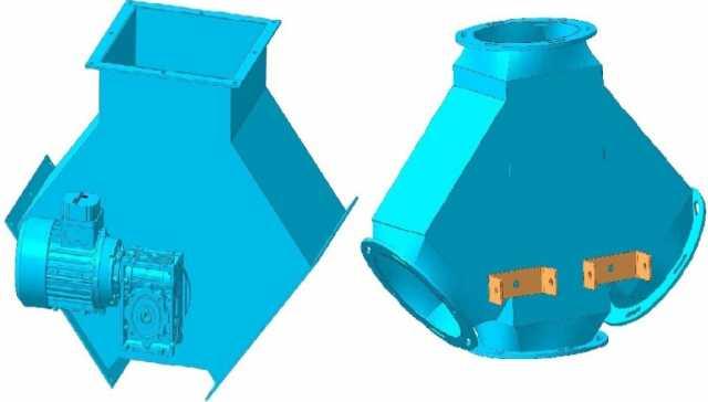 Продам Клапан перекидной электрический, клапан
