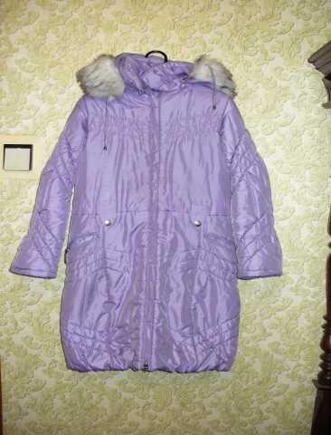 Продам продам зимнюю куртку на девочку 10-13 ле