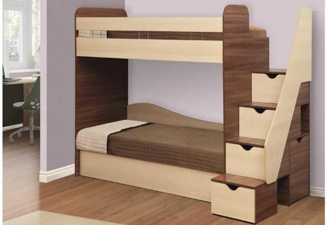 Продам двухярусная кровать адель