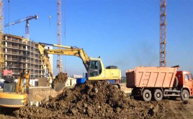 Предложение: Вывоз грунта, разработка котлованов