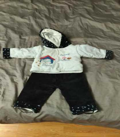 Продам Куртка с брюками детская, 74-80