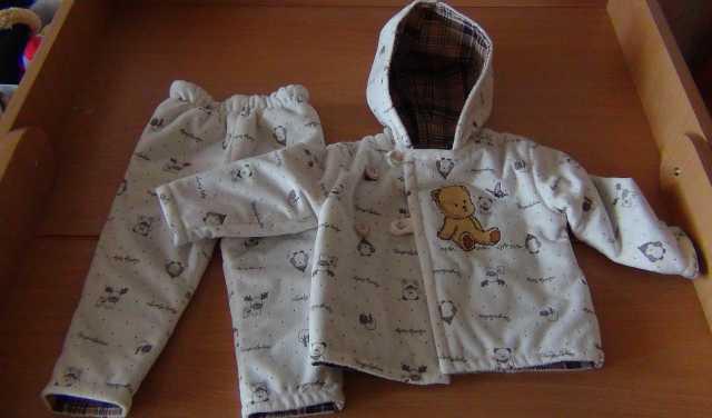Продам Куртка с брюками детская, 6-9 месяцев