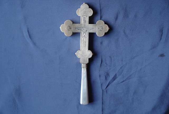 Продам Старинный требный (водосвятный крест).
