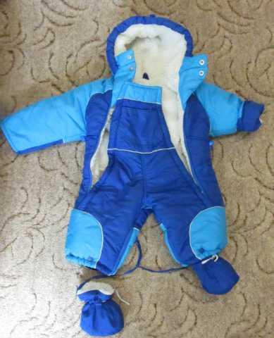 Продам Детский комбинезон зимний