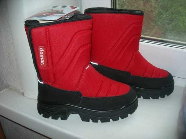 Продам Зимняя обувь на овчине