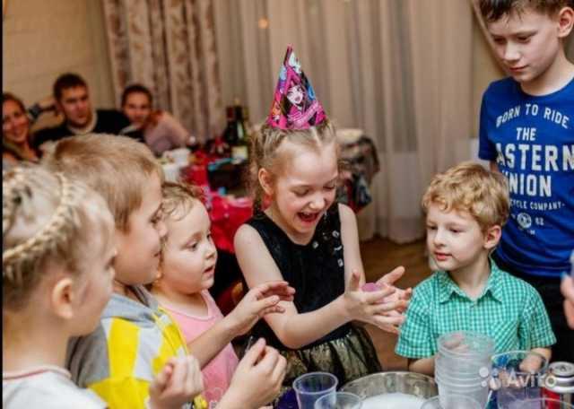 Предложение: Научное шоу на детский праздник !
