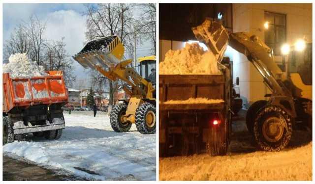Предложение: Вывоз снега круглосуточно, погрузчики