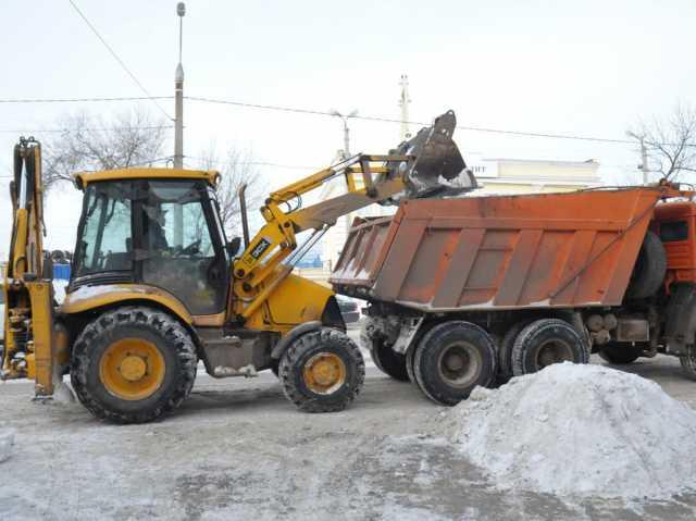 Предложение: Уборка территории от снега