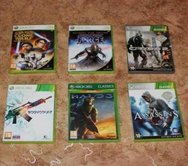 Продам Лицензионные диски на Xbox 360