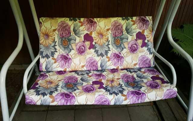 Предложение: Пошив чехлов и подушек для садовой мебел