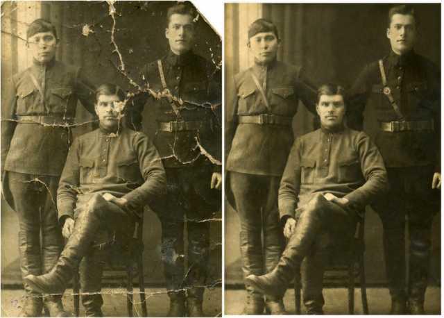 Предложение: Реставрация старых фотографий