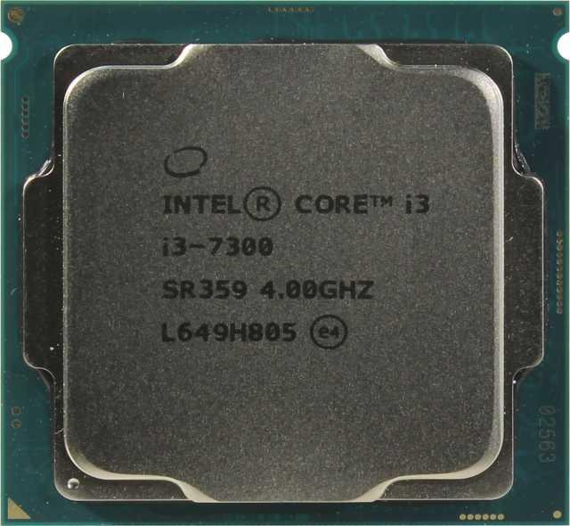 Продам Процессор Intel core i3 7300
