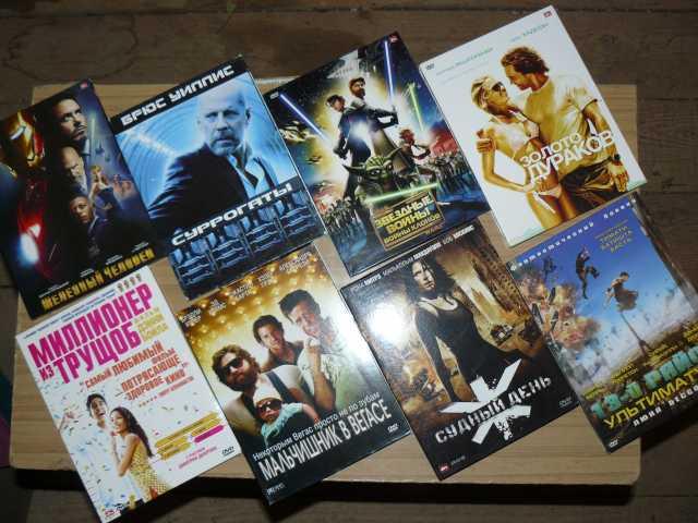 Продам Коробки для DVD-фильмов с полиграфией