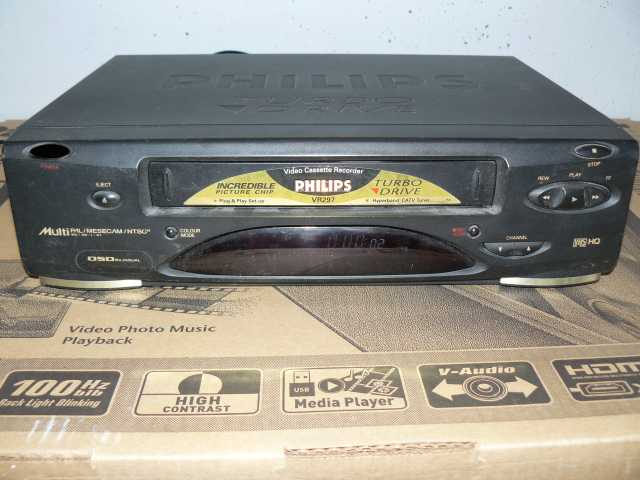 Продам Видеомагнитофон Philips VR297