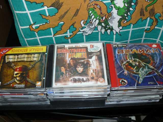 Продам Видеоигры для PC на DVD и CD дисках
