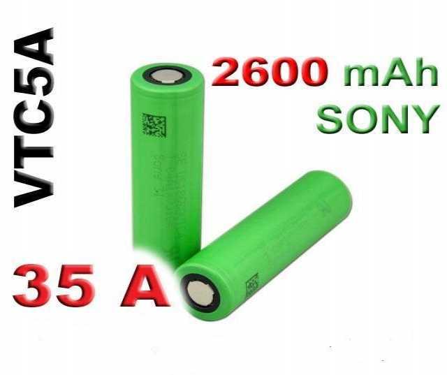 Продам Аккумулятор VTC5a 18650 (2600mAh, 35А) -