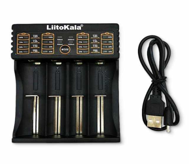Продам Зарядное устройство LiitoKala на 4 слота