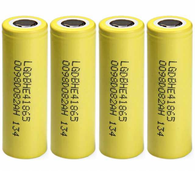 Продам Аккумулятор LG HE 4 18650 (2500 мАч, 40А