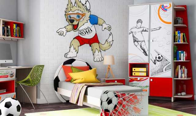 """Продам Детская мебель """"Футбол"""""""