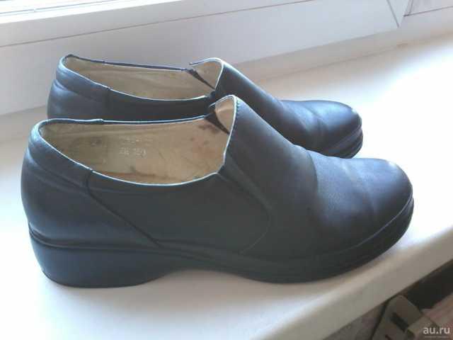 Продам Туфли женские р.39 (нат. кожа)