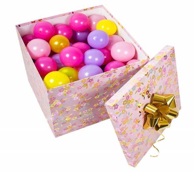 Продам Коробка сюрприз с шариками и подарками