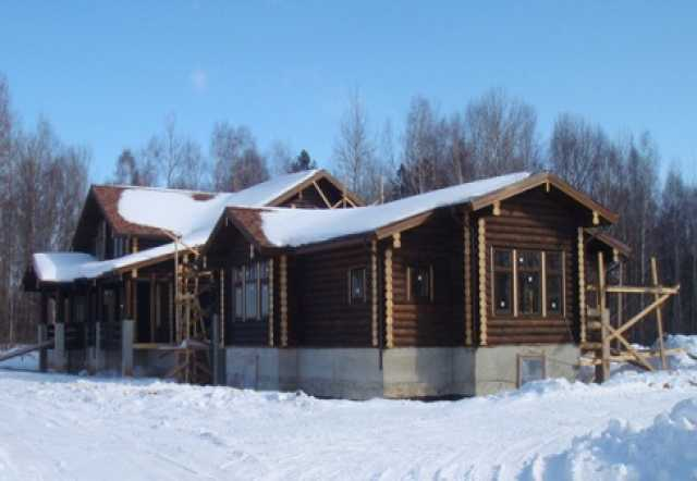 Предложение: Срубы домов, бань и отделка без посредни