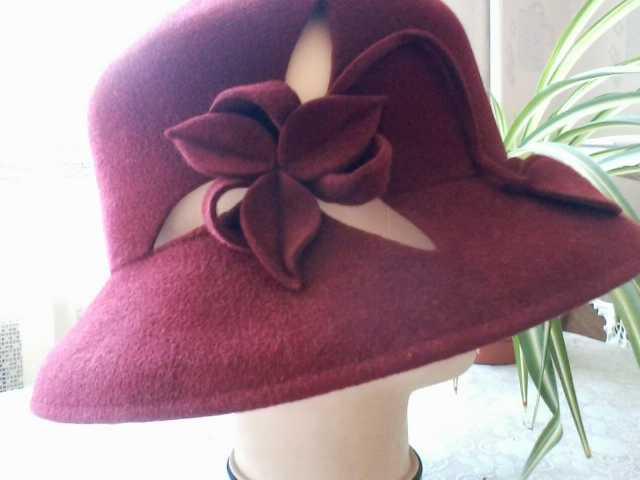 Продам Женская фетровая шляпа