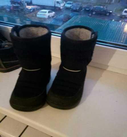 Продам kuoma зимние ботинки