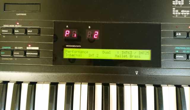 Продам Yamaha DX7 II D