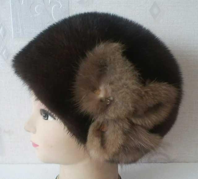 Продам Женская норковая шапочка