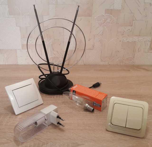Продам Электротовары (антенна, светильник, т.д)