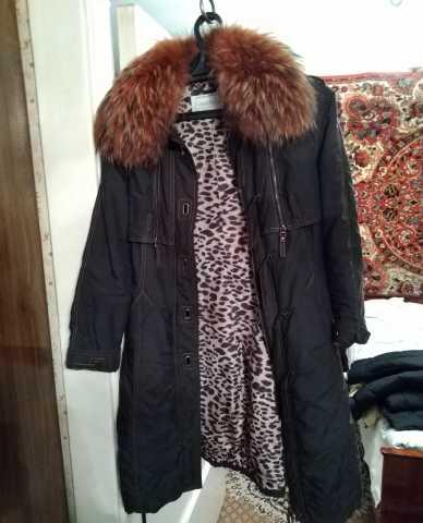 Продам Пальто женское зимнее DERNICHY темное