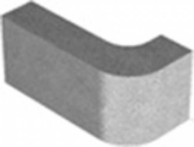 Продам Перегородочный блок радиусный