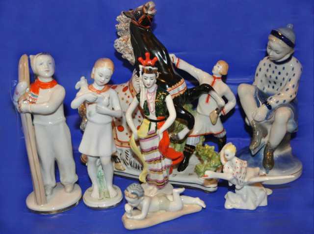 Куплю Фарфоровые статуэтки