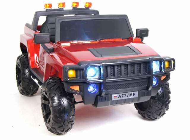 Предложение: Детский электромобиль Hummer вишневый